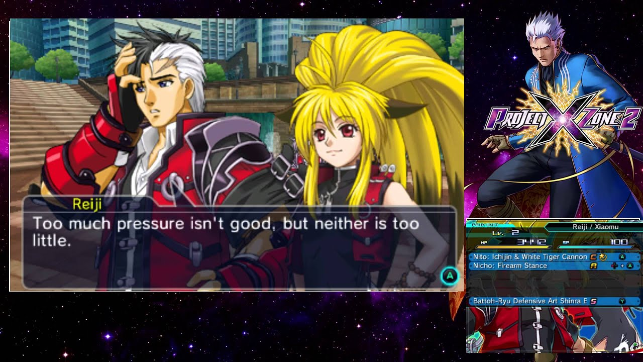 Project X Zone 2 Eng Prologue 1 And 2 Youtube