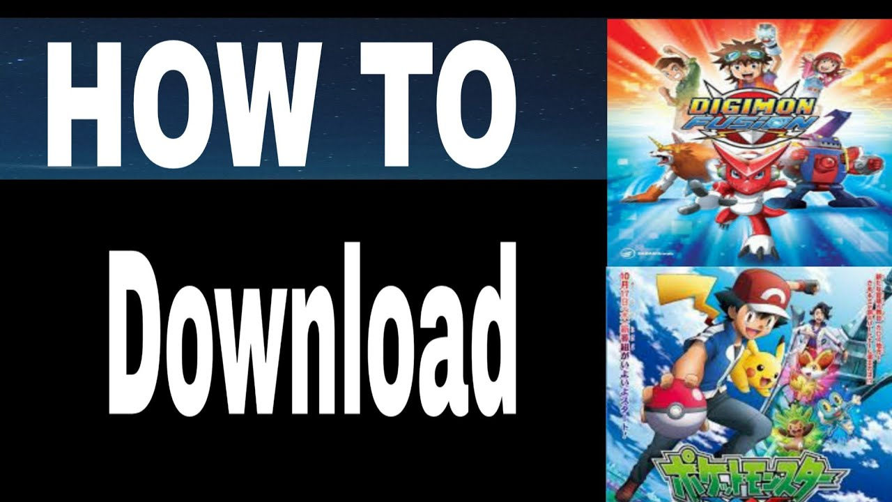 How To Download old cartoon|How to download cartoon episode|Pokémon|Digimon|