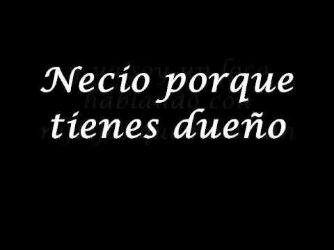 Necio-Romeo Santos letra