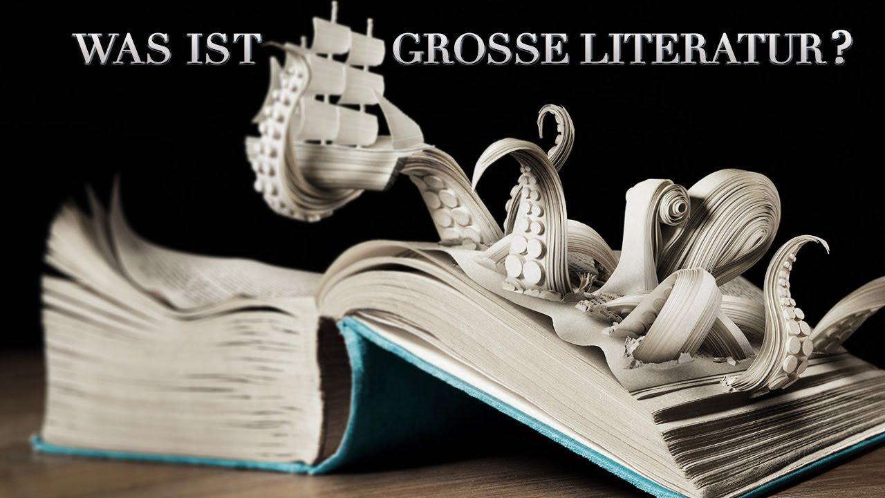 10.000 Subscriber Special: WAS IST GROSSE LITERATUR? | Literatur ist Alles