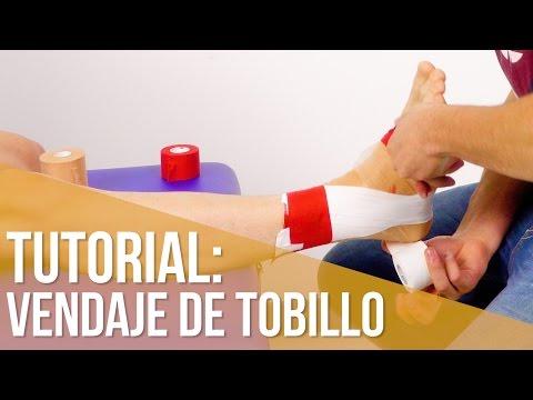 Aprende a hacer un vendaje de tobillo en 6 minutos // Vendaje funcional tobillo