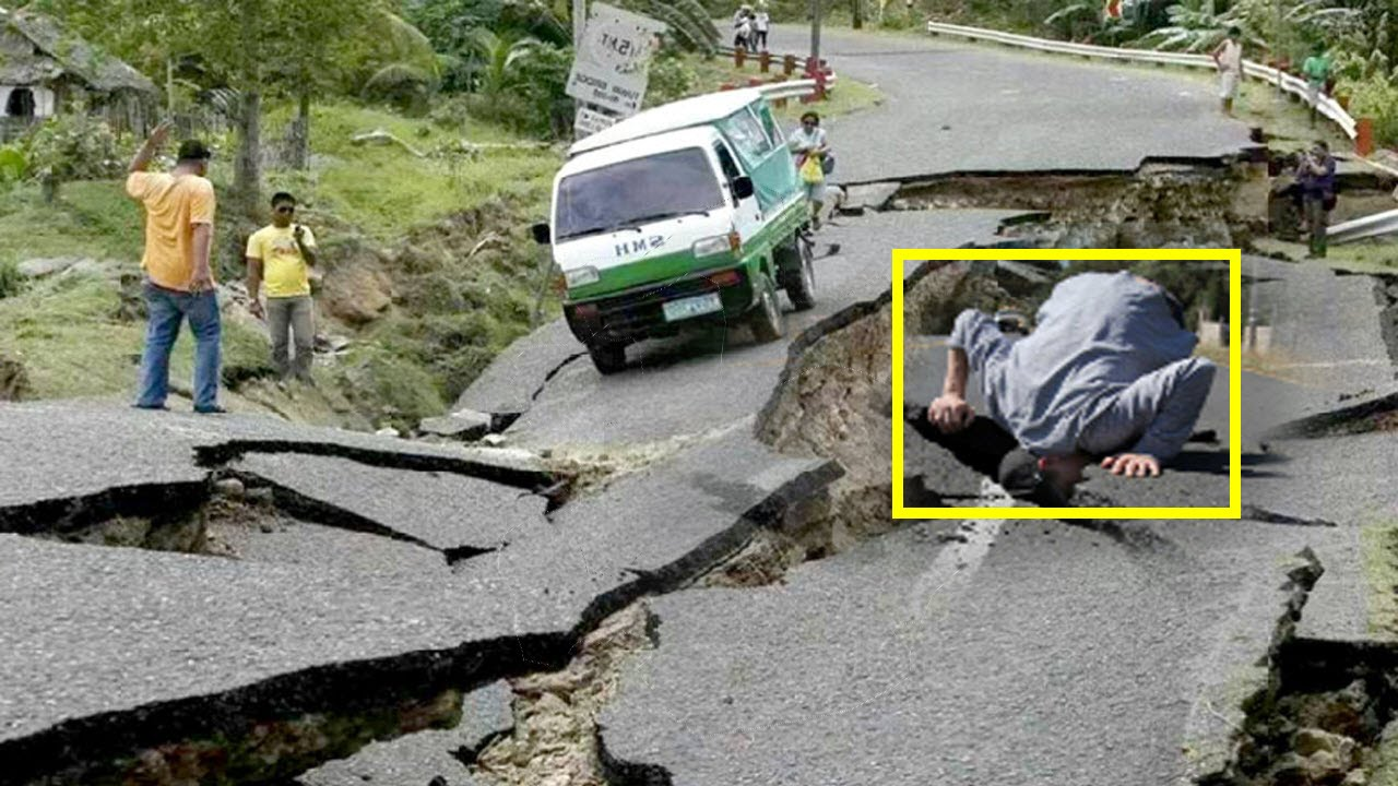 Today Philippines has been struck with a 6.0-magnitude earthquake - YouTube