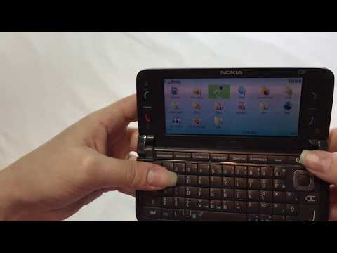 Nokia E90 Communicator Red Single Limited Edition, (Unlocked), Rare phone, Business class