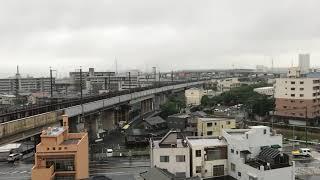 山陽新幹線区間  キティー新幹線