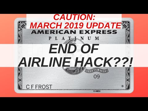 End Of Airline Gift Card Hack?! Which Airline Gift Cards Trigger The Amex Fee Credit March 2019