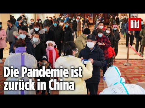Lockdown & Einreiseverbote: Größter Corona-Ausbruch in China seit Monaten