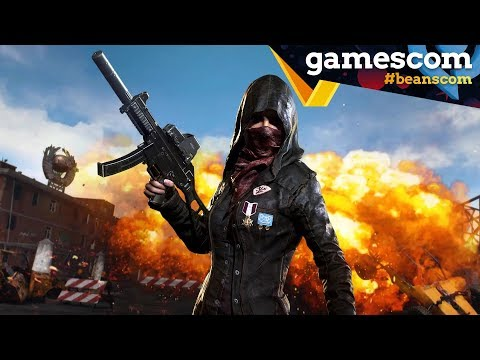 gamescom 2018 | Playerunknown's Battlegrounds mit Dennis, Krogi, Timo & Marco