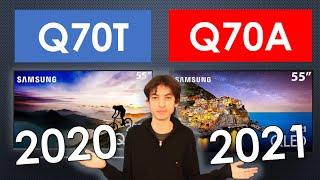 Q70T (2020) vs Q70A (2021) - Qual tem a melhor imagem?