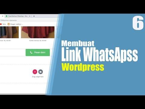 tutorial-wordpress-part-6-|-cara-membuat-link-whattapp-di-wordpress