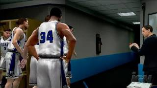 College Hoops 2K7 Xbox 360 Gameplay - Best Warmups Ever