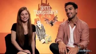Elyas MBarek und Josefine Preuss Interview zu Hotel Transsilvanien