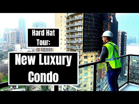 Rainey Street Condo Hard Hat Tour - 70 Rainey | Austin, Texas