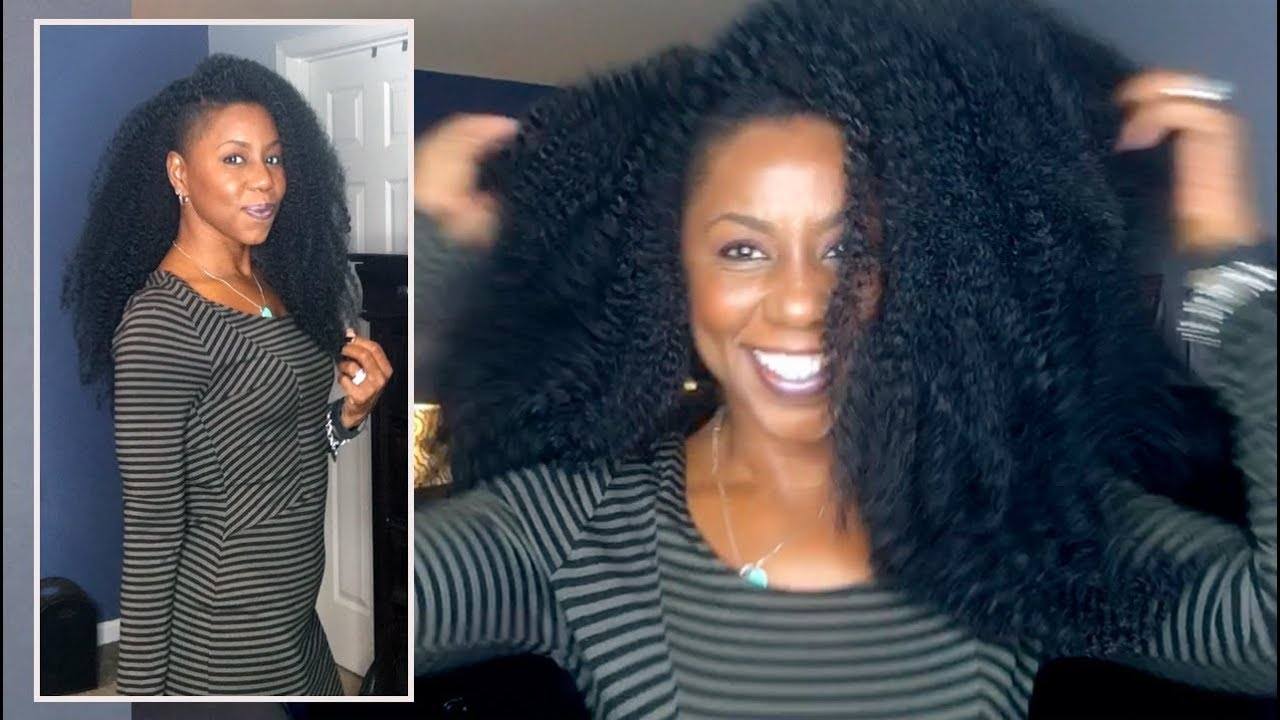 The Most Natural Looking Crochet W Marley Hair Shaved Sides Youtube
