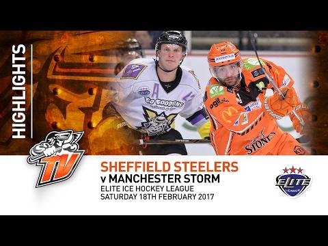 Sheffield Steelers v Manchester Storm - EIHL - Saturday 18th February 2017