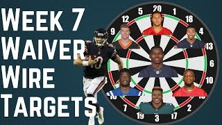 Fantasy Football - Week 7 Waiver Wire Targets