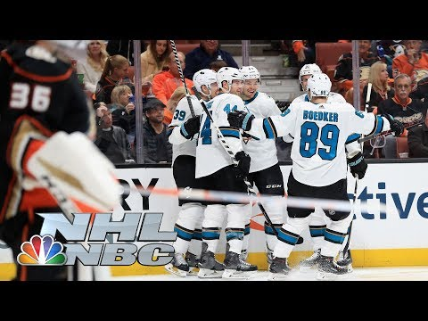 San Jose Sharks vs. Anaheim Ducks I Game 2 I NHL Stanley Cup Playoffs I NBC Sports