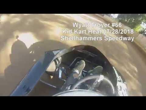 Shellhammers Speedway Kid Kart Heat on 07/28/2018