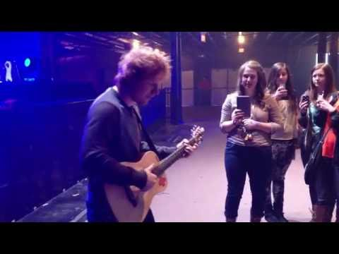Private Acoustic Performance With Ed Sheeran - Lego House