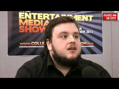 Anna Karenina Interview with John Bradley (Game of Thrones)