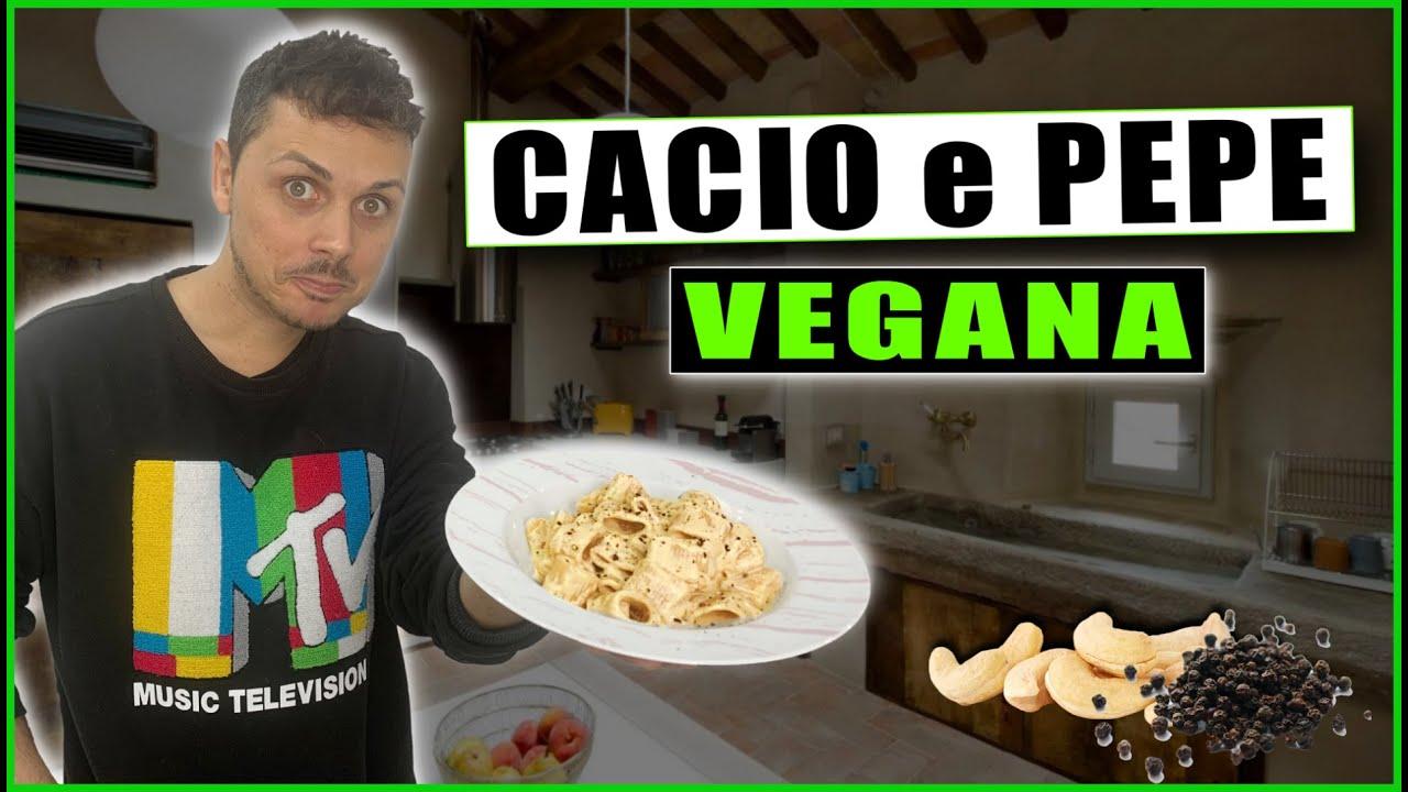 CACIO E PEPE VEGANA - Ricetta Facile & Veloce