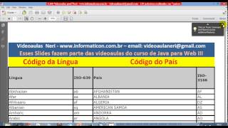aula 5240 java para web III   JSTL FMT Formatting I18N internacionalizando a aplicacao iso 639 3166