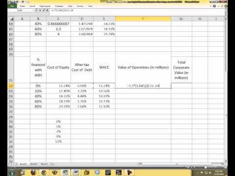 Capital Structure Tutorial.avi
