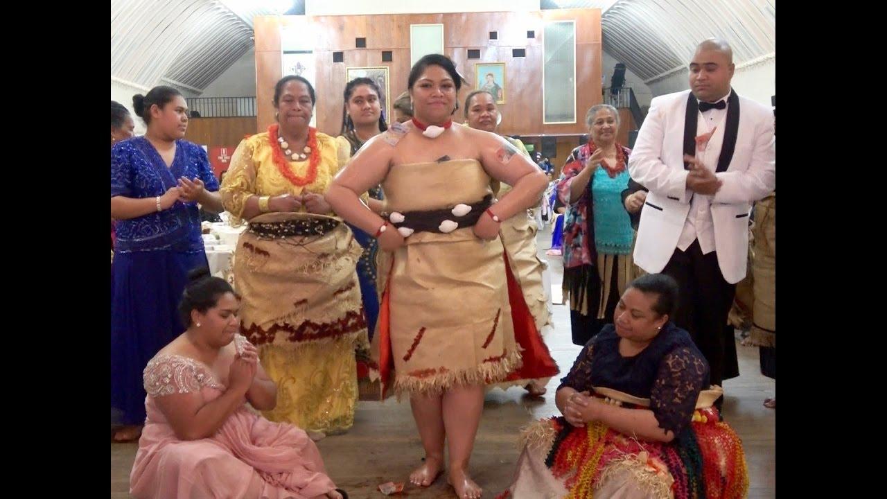 Kato Kakala Paongo Veilofia Bridal Tau Olunga Sione Wedding Celebration