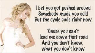 Download Lagu Taylor Swift - Mean Lyrics Video mp3