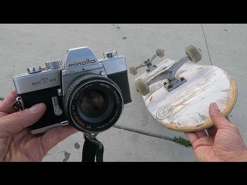 HOW I SHOOT 35MM FILM PHOTOS. *includes skateboarding*