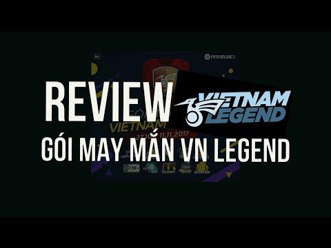 REVIEW 10 GÓI MAY MẮN VIETNAM LEGEND