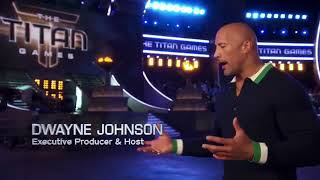 The Rock new game show TITAN Games