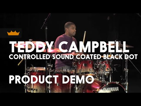 Teddy Campbell Coated Controlled Sound Black Dot