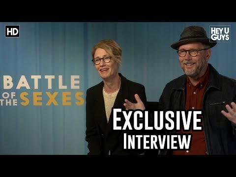 Directors Jonathan Dayton & Valerie Faris  Battle of the Sexes Exclusive