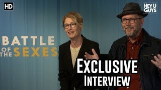 Directors Jonathan Dayton & Valerie Faris | Battle Of The Sexes Exclusive Interview