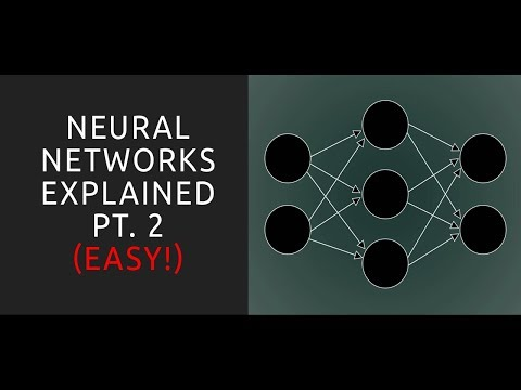 Neural Networks Explained 2 - Machine Learning Tutorial for Beginners