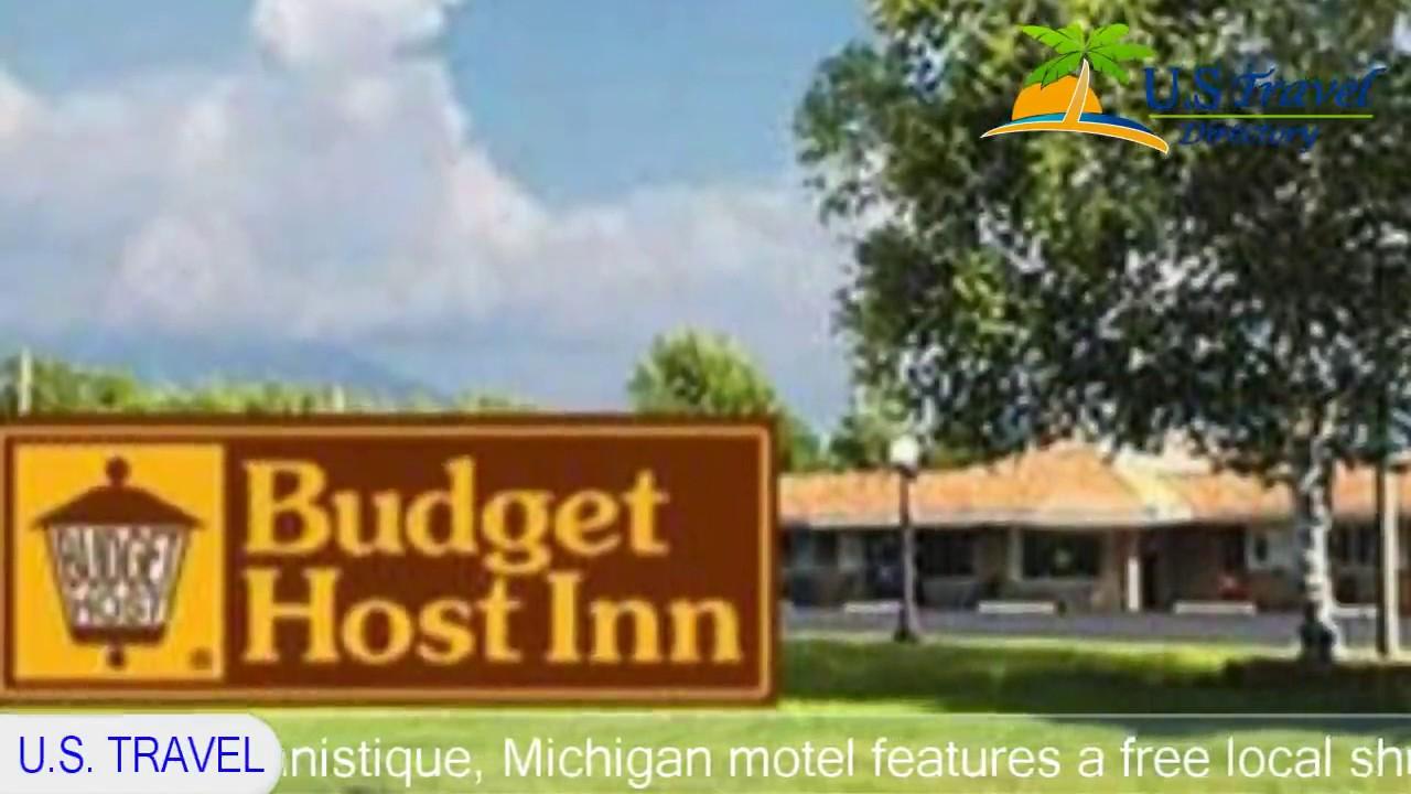 Budget Host Inn Manistique 2 Stars Hotel In Michigan