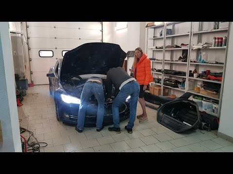 Моя Тесла. Видео аварии. Что с ПТС? Tesla Model S