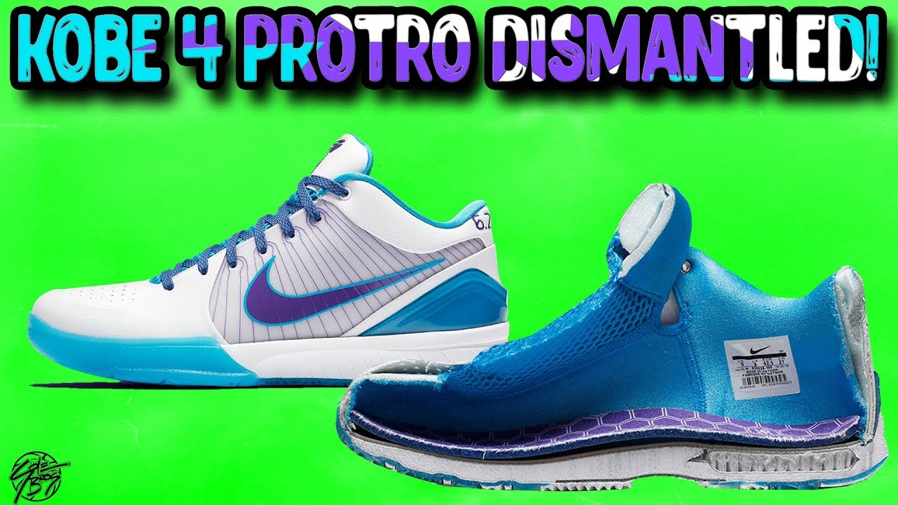 3c3fca61d938 Nike KOBE 4 Protro DIMANTLED! - YouTube
