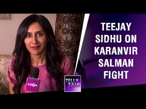 Teejay Sidhu reacts to Salman Khan - Karanvir Bohra controversy   Bigg Boss 12   Exclusive