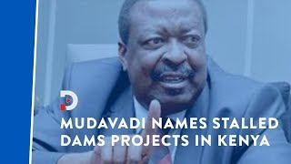 Musalia Mudavadi lists 'stalled' dams construction projects he alleges have cost billions