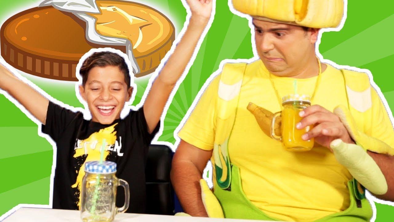 فوزي موزي وتوتي - عدي ومقلب العصير - Juice prank