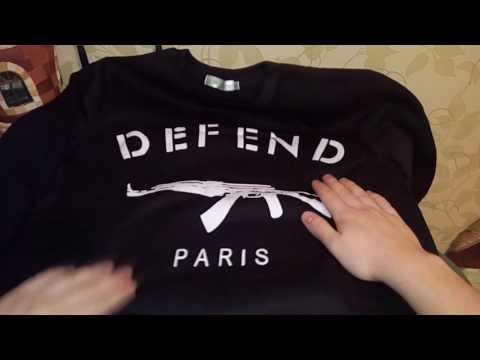 Посылка из Китая №197 (Свитшот Defend Paris AK47 с Aliexpress!!)