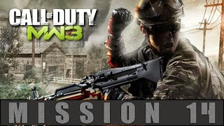 Call of Duty Modern Warfare 3 Mission 14 Scorched Earth Gameplay Walkthrough [PC]