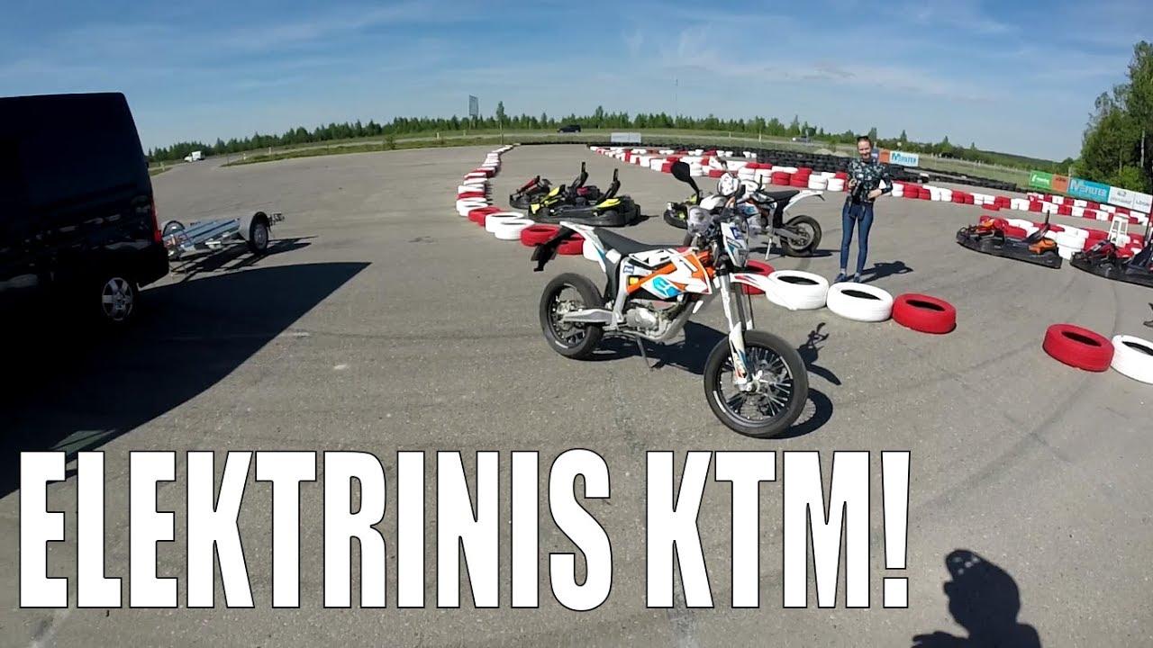 Ktm Freeride E Sm >> KTM FreeRide E SM Apžvalga! - Važiuojam į E-PowerPark! - YouTube