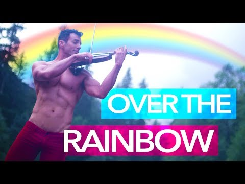 SOMEWHERE OVER THE RAINBOW - Shirtless Violinist - Wizard of Oz