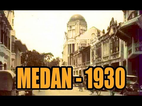 KOTA MEDAN 1930 - Zaman Belanda