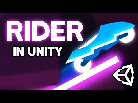 How to make RIDER in Unity Livestream