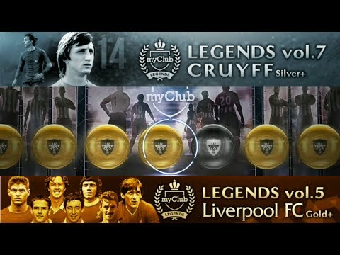 Opening Legends vol 7 CRUYFF & Legends vol 5 LIVERPOOL FC Gold+