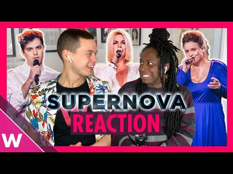 Latvia Eurovision 2020 | Supernova Reaction Video | All 9 Songs