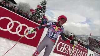Bode Miller Kitzbühel 2014 - Downhill